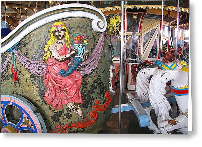 Hull Ma Greeting Cards - My Chariot Greeting Card by Barbara McDevitt