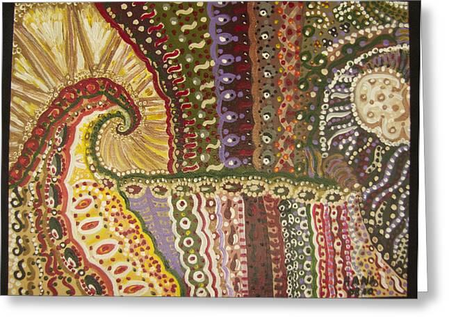Hana Hodzic Greeting Cards - My Dreams as a Child Greeting Card by Hana Hodzic