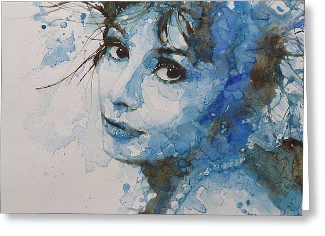 Gaze Greeting Cards - My Fair Lady Greeting Card by Paul Lovering
