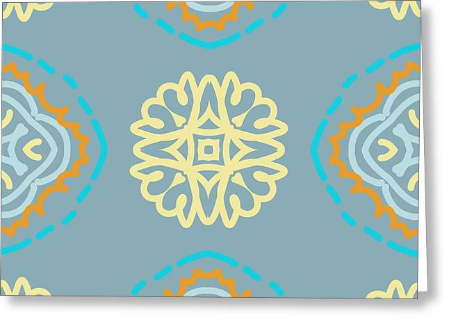 Artwork Tapestries - Textiles Greeting Cards - My favorite Greeting Card by Savvycreative Designs