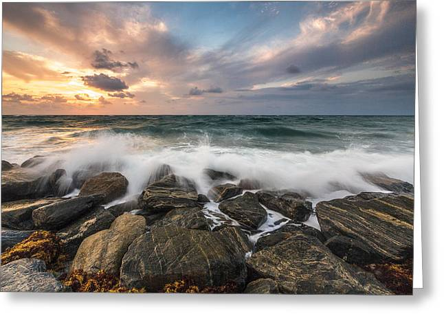 Art Photo Gallery. Greeting Cards - My First Light Greeting Card by Jon Glaser