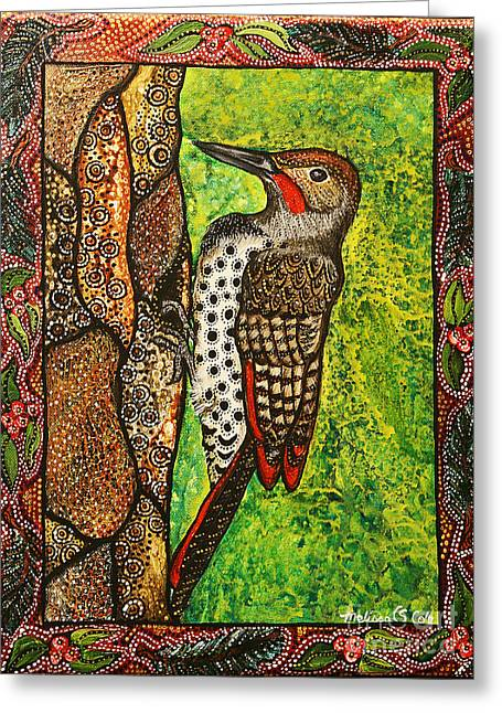 My Friend Greeting Cards - My Friend Flicker Greeting Card by Melissa Cole