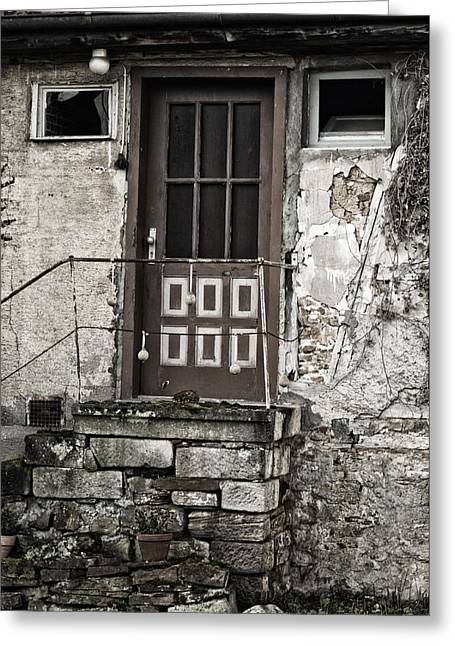 Tuer Greeting Cards - My Front Door Greeting Card by Miguel Winterpacht