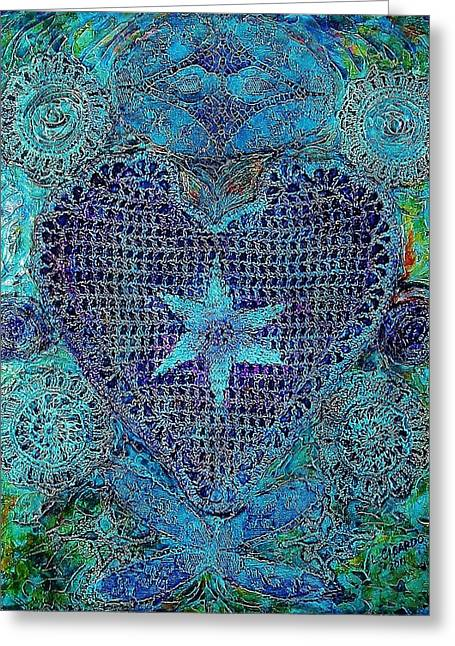 Repurposed Greeting Cards - My Funky Valentine-SOLD Greeting Card by Lou Cicardo