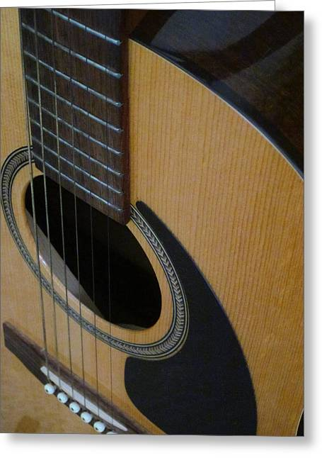 Guy Ricketts Photography Greeting Cards - My Guitar Sound Greeting Card by Guy Ricketts