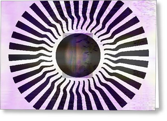 MY HEAD SPINS Greeting Card by PainterArtist FIN