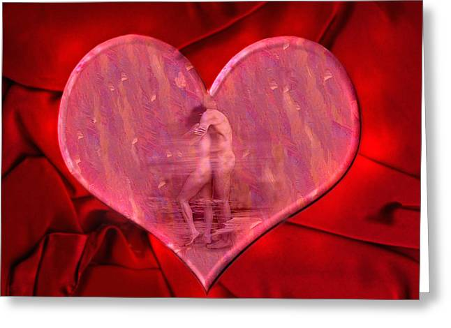 Loving Greeting Cards - My Hearts Desire 2 Greeting Card by Kurt Van Wagner