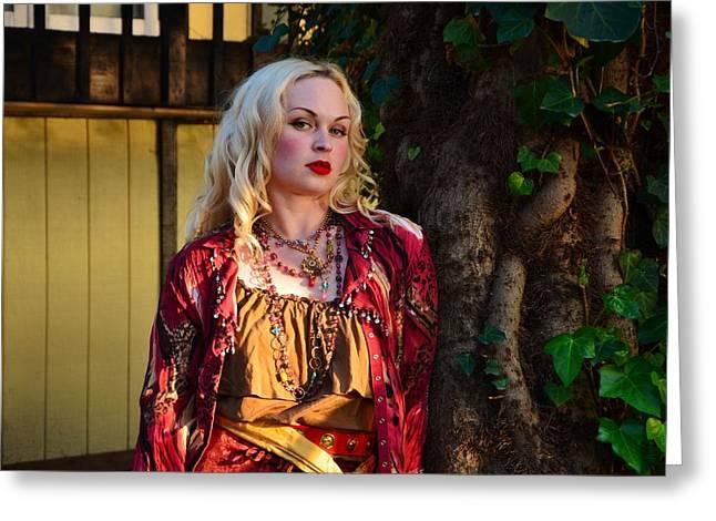 Gypsy Greeting Cards - My Inner Gypsy Greeting Card by Marilyn MacCrakin