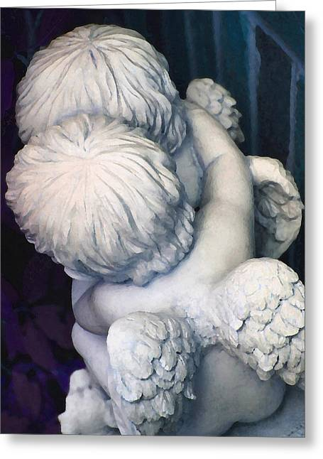 Angelical Greeting Cards - My Little Angels Greeting Card by  The Art Of Marilyn Ridoutt-Greene