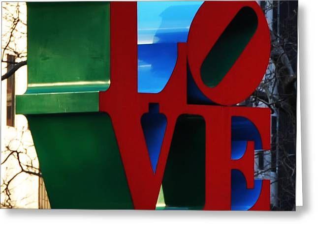 Phila Digital Art Greeting Cards - My Love  Greeting Card by Bill Cannon