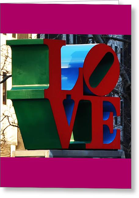 Phila Digital Greeting Cards - My Love  Greeting Card by Bill Cannon