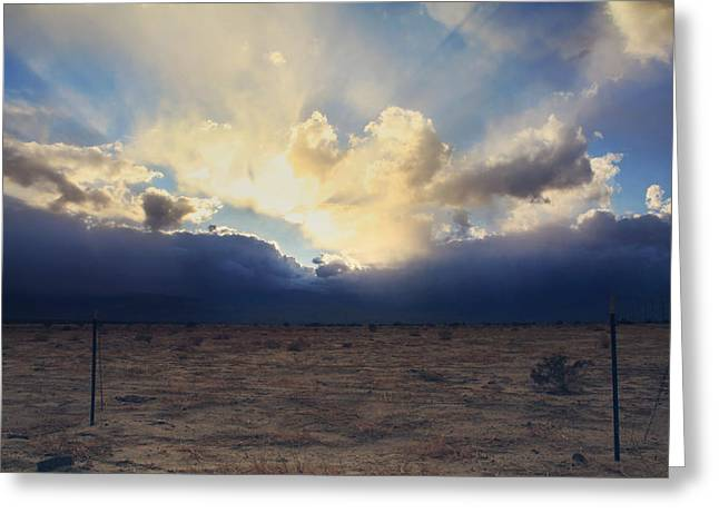 Rays Of Light Greeting Cards - My Love For You Greeting Card by Laurie Search