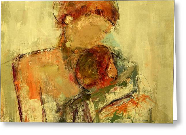 Figure Greeting Cards - My Love Greeting Card by Lisa Moore