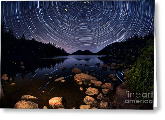 Jordan Pond Greeting Cards - My Midsummer Dream Greeting Card by Marco Crupi