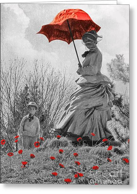 Tom Boy Greeting Cards - My Monet Greeting Card by Tom York Images