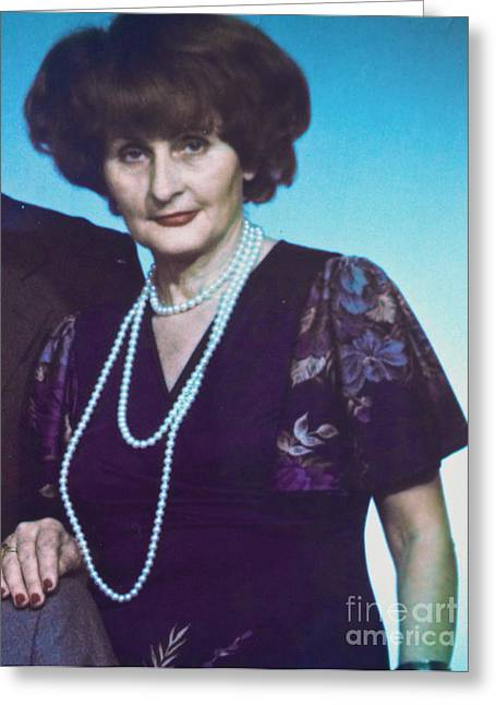 My Mother. Greeting Card by  Andrzej Goszcz