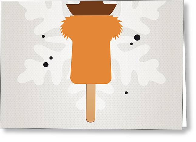 My MUPPET ICE POP - Fozzie Bear Greeting Card by Chungkong Art