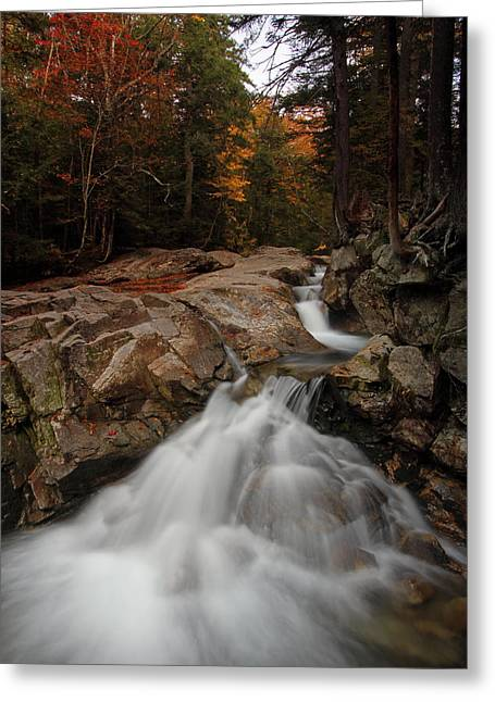 Beautiful Creek Greeting Cards - My New England Greeting Card by Juergen Roth
