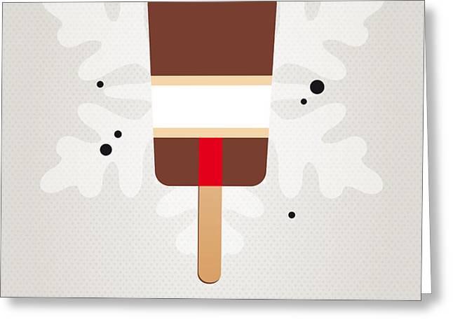 My NINTENDO ICE POP - Donkey Kong Greeting Card by Chungkong Art
