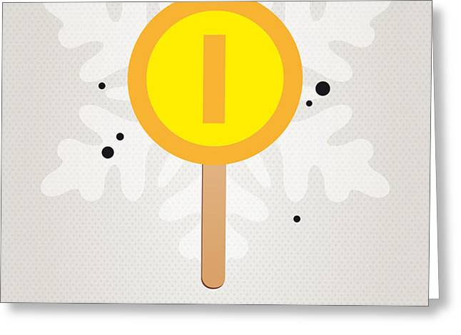 My NINTENDO ICE POP - Gold Coin Greeting Card by Chungkong Art