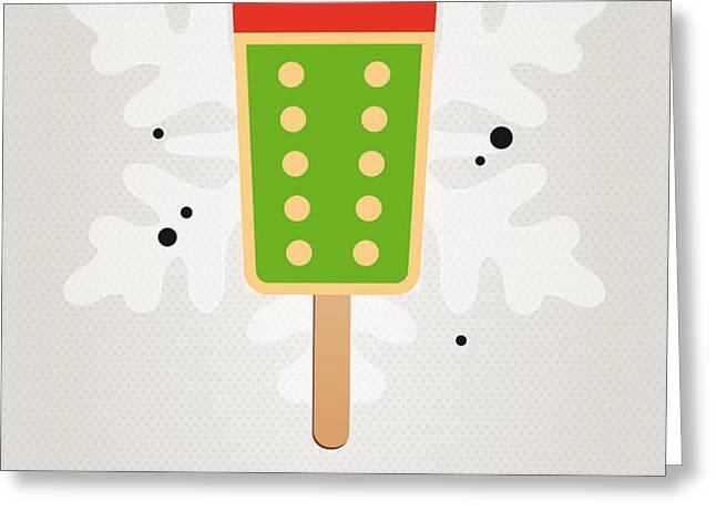 My NINTENDO ICE POP - King Bowser Greeting Card by Chungkong Art