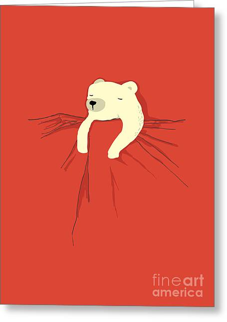 Cute Animals Greeting Cards - My pet Greeting Card by Budi Satria Kwan