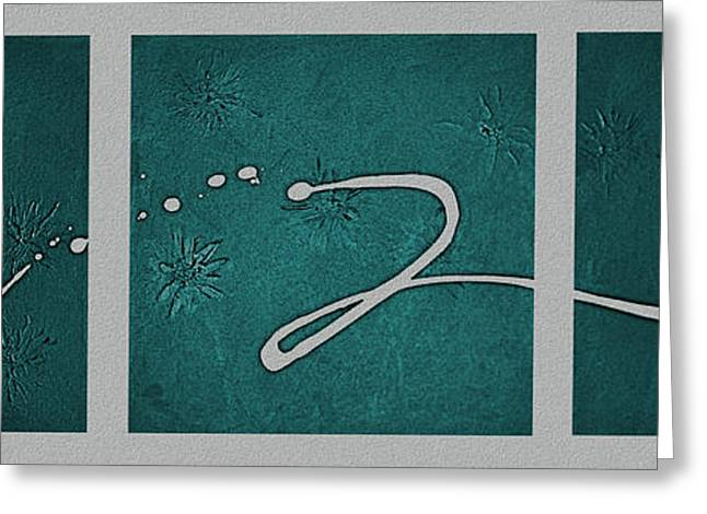 Abstract Expression Greeting Cards - My Song II Greeting Card by Kume Bryant
