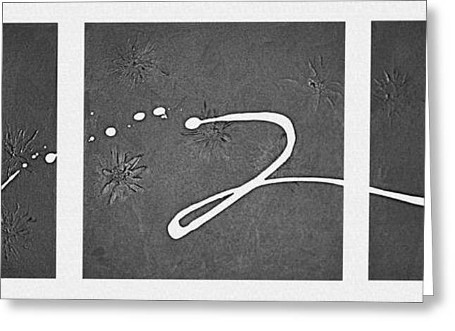 Abstract Expression Greeting Cards - My Song Greeting Card by Kume Bryant