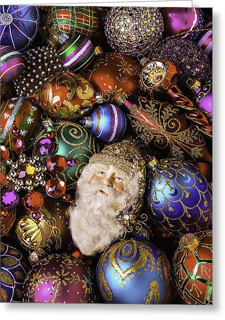 Many Faces Greeting Cards - My Special Christmas Ornaments Greeting Card by Garry Gay