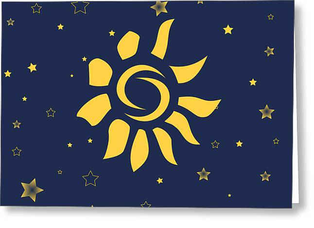 Child Care Digital Greeting Cards - My Sunshine Greeting Card by Celestial Images