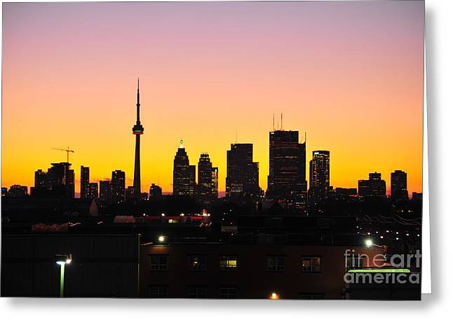 Marko Greeting Cards - My Toronto Greeting Card by Marko Moudrak
