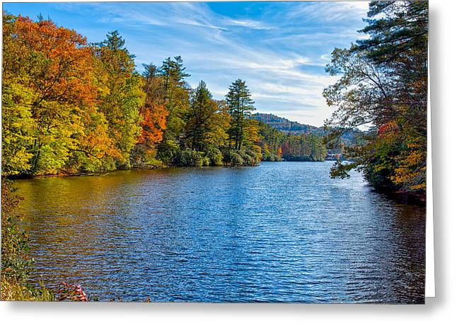 Scenic Drive Greeting Cards - Myriad Colors of Nature Greeting Card by John Bailey