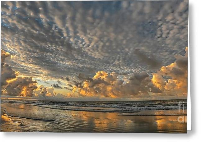 Jeff Breiman Greeting Cards - Myrtle Beach Panorama 2 Greeting Card by Jeff Breiman