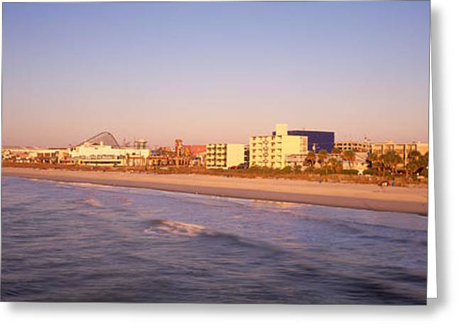 Myrtle Beach Sc Greeting Card by Panoramic Images