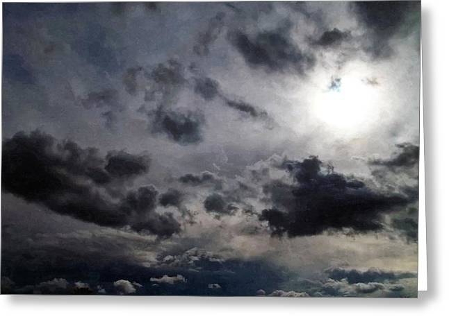 Meditative Greeting Cards - Mystery Of The Sky Greeting Card by Glenn McCarthy Art and Photography