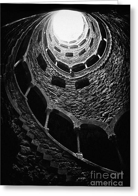 Castle Photographs Greeting Cards - Mystery Tower Greeting Card by Jose Elias - Sofia Pereira