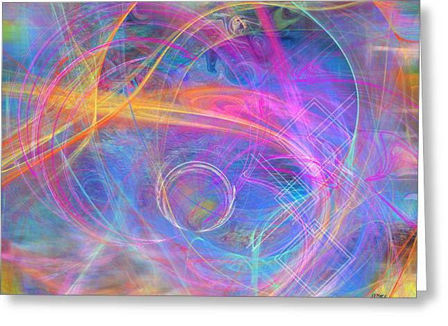 Mystic Art Greeting Cards - Mystic Beginning - Special Edition Greeting Card by John Robert Beck