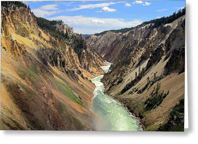 Wyoming Greeting Cards - Mystic Canyon Greeting Card by Mike Podhorzer