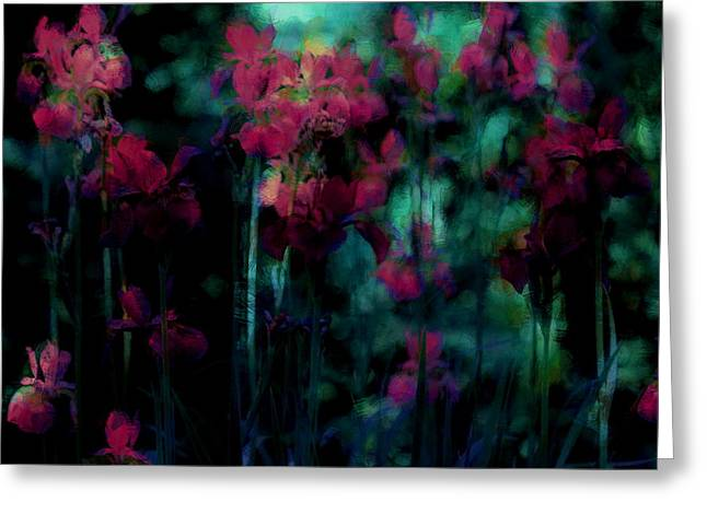 Masterful Greeting Cards - Mystic Dreamery Greeting Card by  The Art Of Marilyn Ridoutt-Greene