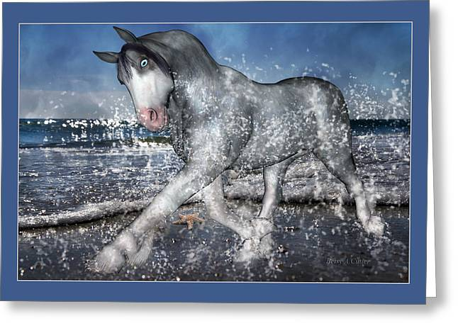 Trot Greeting Cards - Mystic Inspiration Greeting Card by Betsy C  Knapp