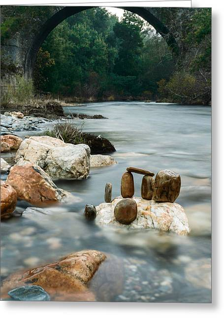 Flow Of Life Greeting Cards - Mystic River I Greeting Card by Marco Oliveira