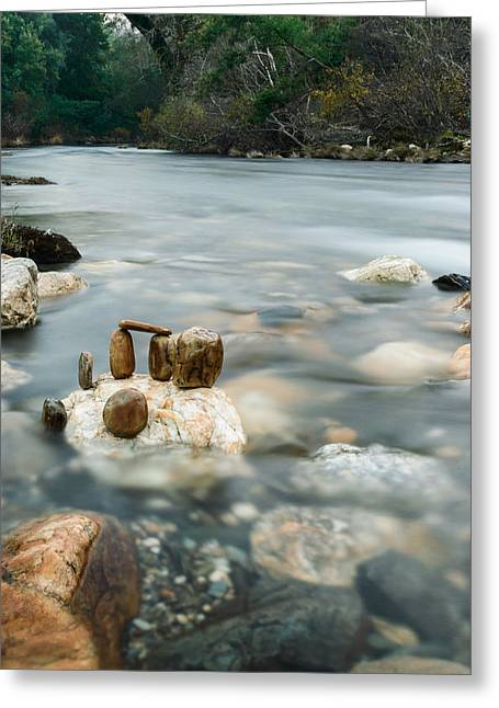 Flow Of Life Greeting Cards - Mystic River II Greeting Card by Marco Oliveira