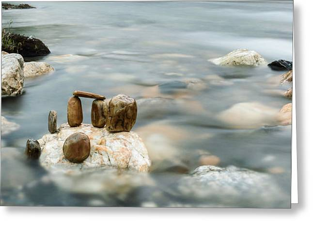 Mystic River II Greeting Card by Marco Oliveira