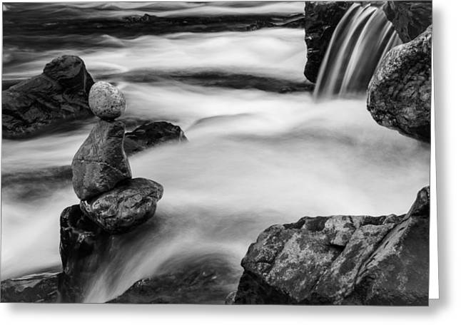 Mystic River S2 IV Greeting Card by Marco Oliveira