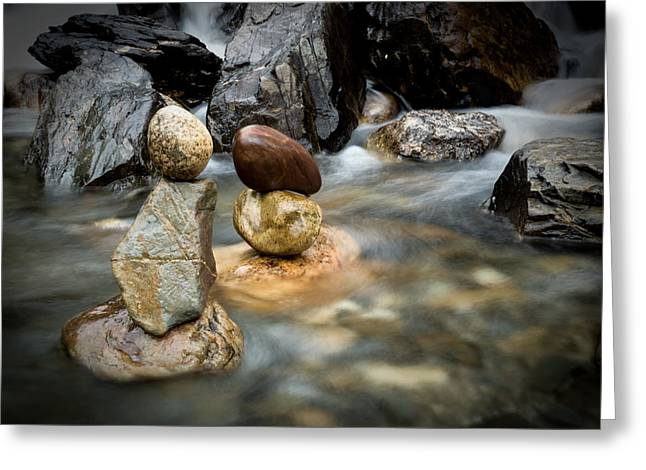 Profound Greeting Cards - Mystic River S2 VII Greeting Card by Marco Oliveira
