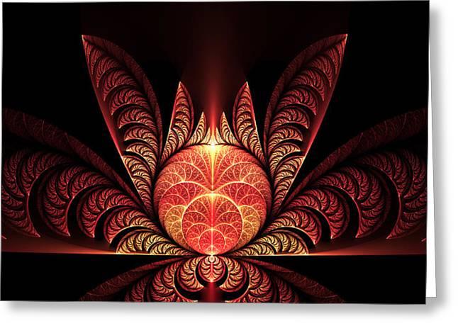 Mystic Art Greeting Cards - Mystical Greeting Card by Gabiw Art