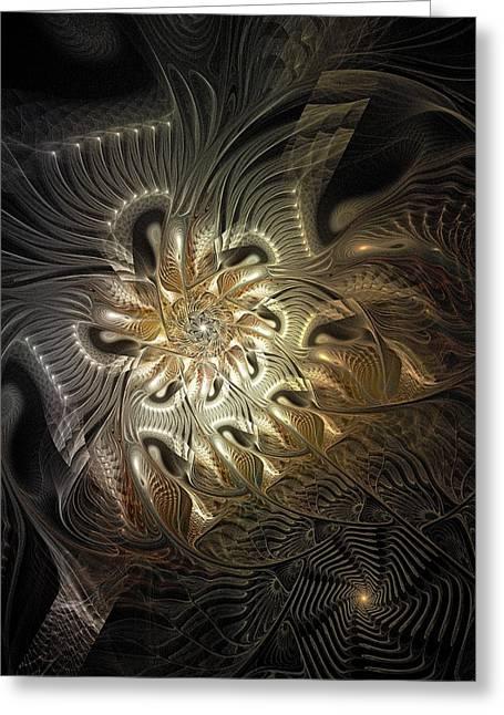 Mystical Metamorphosis Greeting Card by Amanda Moore