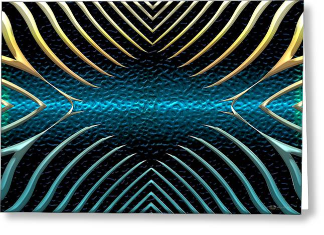 Ithaca Greeting Cards - Mystique Number Two Greeting Card by Serge Averbukh