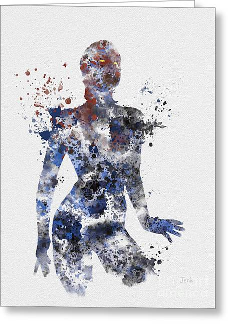 X-men Greeting Cards - Mystique Greeting Card by Rebecca Jenkins