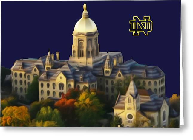 N D Greeting Card by Brien Miller